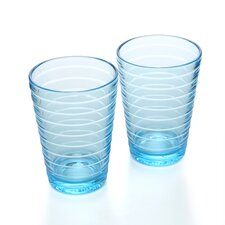 Aino Aalto 11.75 Oz. Tumblers Light Blue (Set of 2)