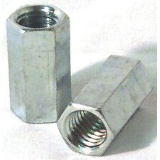 "1/4"" Right Hand Threaded Rod Coupler Nuts 11843"