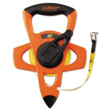 Hi-Viz Engineer's Fiberglass Measuring Tape