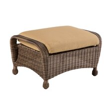 North Mowing All Weather Wicker Ottoman