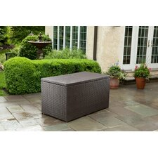 <strong>Alfresco Home</strong> All Weather Wicker Outdoor Storage Box