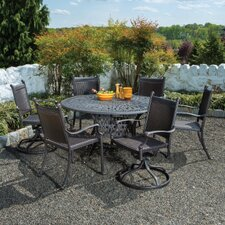 <strong>Alfresco Home</strong> Anchor 7 Piece Dining Set
