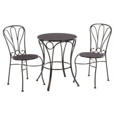 <strong>Alfresco Home</strong> Cupcake 3 Piece Bistro Set