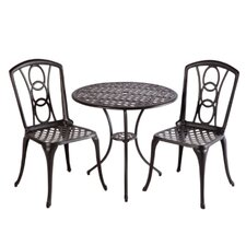 Retiro 3 Piece Bistro Set