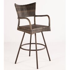 <strong>Alfresco Home</strong> Tutto All Weather Wicker Bar Stool (Set of 2)