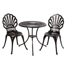 <strong>Alfresco Home</strong> Bay View Bistro Set