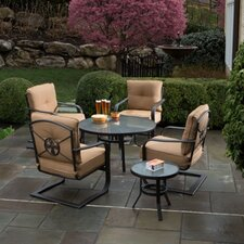 Soiree Spring 6 Piece Chat Set