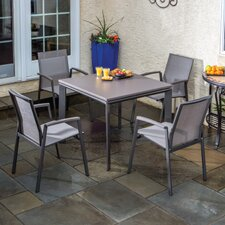 <strong>Alfresco Home</strong> Serenity 5 Piece Dining Set