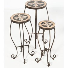 Formia 3 Piece Plant Stand