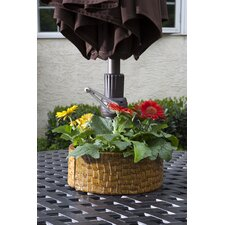 Cobblestone Umbrella Planter