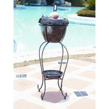 <strong>Alfresco Home</strong> Duetto Elevated Planter & Beverage Cooler - Cognac