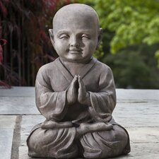 <strong>Alfresco Home</strong> Praying Buddha Statue
