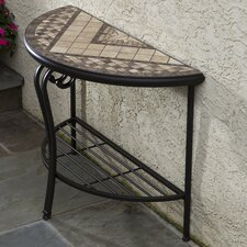 Basilica Mosaic Outdoor Console Table