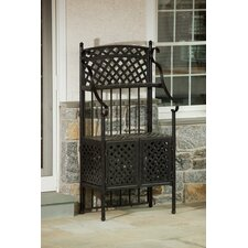 <strong>Alfresco Home</strong> Weave Outdoor Bakers Rack