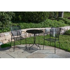 <strong>Alfresco Home</strong> Martini 3 Piece Dining Set