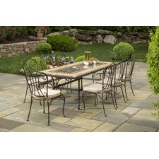 <strong>Alfresco Home</strong> Loretto 9 Piece Dining Set
