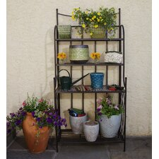 <strong>Alfresco Home</strong> Vulcano Mosaic Outdoor Bakers Rack