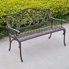 Wisteria Outdoor Bench