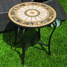 <strong>Alfresco Home</strong> Compass Mosaic Side Table