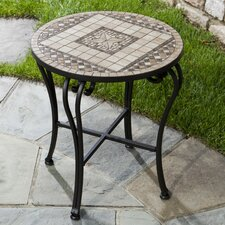<strong>Alfresco Home</strong> Basilica Mosaic Side Table