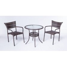Tutto All Weather Wicker Bistro Set
