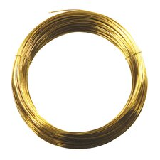 75' 28 Gauge Brass Hobby Wire 50154