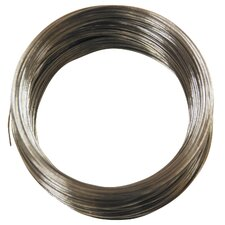 100' 28 Gauge Galvanized Steel Hobby Wire 50138