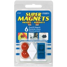 <strong>Master Magnetics</strong> Posting Magnets (Pack of 6)