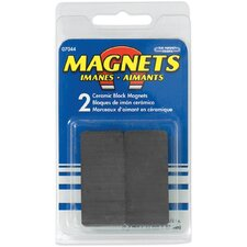 <strong>Master Magnetics</strong> Ceramic Disc Magnets (Pack of 2)