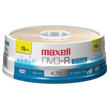 <strong>Maxell</strong> 15 Count DVD-R Disc