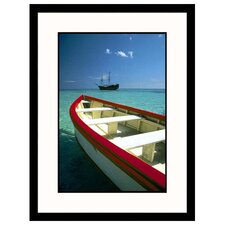 Seascapes 'Boat and Ship On the Sea' by William Swartz Framed Photographic Print