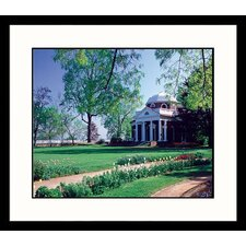 National Treasures Monticello Framed Photographic Print