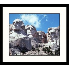 National Treasures 'Mount Rushmore, South Dakota' by Charlie Borland Framed Photographic Print