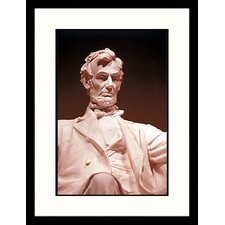 National Treasures 'Lincoln Memorial, DC' by Allen Russell Framed Photographic Print