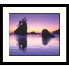 Olympia Sunset Framed Photograph - Mark Windom
