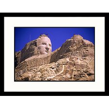 <strong>Great American Picture</strong> Crazy Horse Monument, South Dakota Framed Photograph - John Coletti