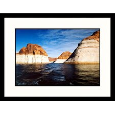 National Treasures 'Forbidden Canyon, Rainbow Bridge Monument, Utah' by James Denk Framed Photographic Print