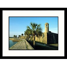 National Treasures 'Castillo de San Marcos National Monument' by Stephen Saks Framed Photographic Print