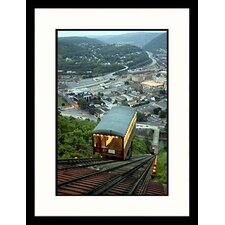 National Treasures 'Johnstown Pennsylvania, National Flood Monument' by Dennis MacDonald Framed Photographic Print