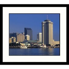 <strong>Great American Picture</strong> New Orleans Skyline Framed Photograph - Adam Jones