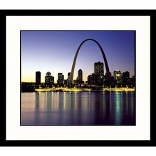 <strong>Great American Picture</strong> St. Louis Arch Framed Photograph - Adam Jones