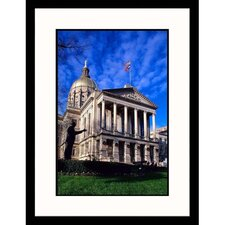 Cityscapes 'State Capitol of Georgia' by Wendell Metzen Framed Photographic Print