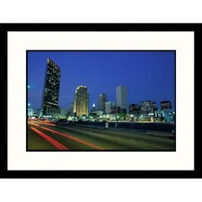 Cityscapes 'New Orleans Skyline' by James Lemass Framed Photographic Print
