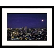 Cityscapes 'New Orleans Skyline at Night' by John Coletti Framed Photographic Print