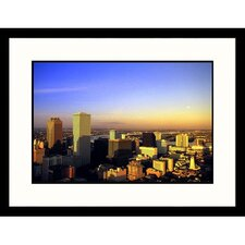 Cityscapes 'New Orleans Skyline' by John Coletti Framed Photographic Print