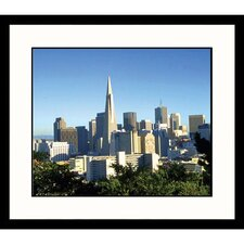 <strong>Great American Picture</strong> View of San Francisco Skyline Framed Photograph