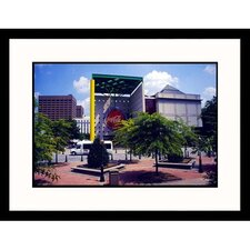 Cityscapes World of Coca Cola in Atlanta Georgia Framed Photographic Print