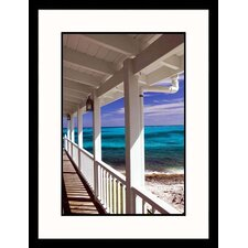 Atlantic Ocean View Framed Photograph - Walter Bibikow
