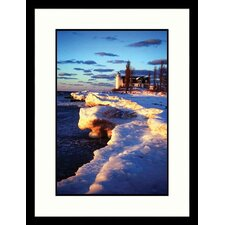 Seascapes Pt. Betsie, Michigan Light Framed Photographic Print