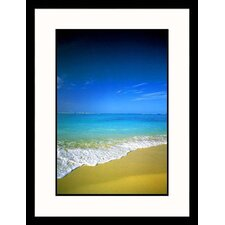 Seascapes 'Ocean and Beach' by Elan Sun Star Framed Photographic Print